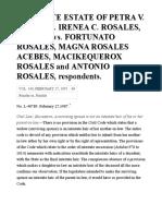 1. Rosales vs. Rosales