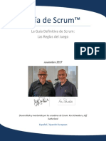 2017 Scrum Guide Spanish European