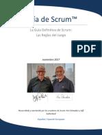 2017 Scrum Guide Spanish European