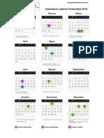 Pontevedra Calendario Laboral 2018