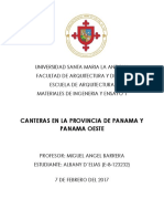 Canteras Panama