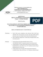 SK Tata Nilai Budaya Mutu Dan Keselamatan Pasien Dalam Pelayanan Klinis Di Puskesmas Tanjungpinang
