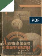 Aparate de Masurat Si Masurari Electrice Uzuale - Ion Antoniu (1962)