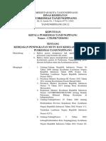 SK Kebijakan Peningkatan Mutu Dan Keselamatan Pasien Pkm Tpi