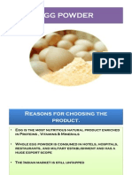 Egg Powder Manufacturing Plant Ecom Final Ppt1