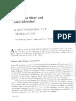 1a. Vinay & Darbelnet 1958 - A Methodology for Translation (Transl by Sager & Hamel 1995)