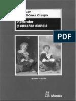Aprender a Enseñar Ciencia - Pozo, Gomez Crespo.pdf