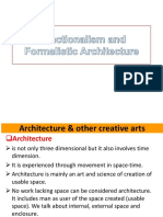 Final-Functionalism and Formalistic Architecture(1)
