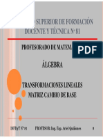 04 - TL - Matriz Cambio de Base