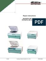 Hettich Rotanta 460 - Repair Manual