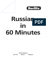 learn russian in 60 minutes