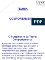TGA Cap.13- Teoria Comportamental