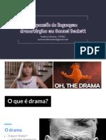 A expansão da linguagem dramatúrgica em Samuel Beckett - [apresentação]