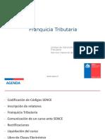 Franquicia Tributaria_ Marzo 2017 - PUC