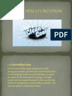 Coal Desulfurization