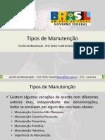 03 - Tipos de Manutenção Em Máquinas