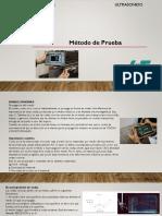5.3 Metodo de Prueba