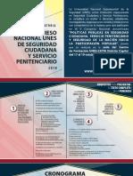 Cronograma y Requisitos Del v Congreso Nacional