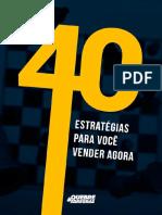 E Book 40 Estratégias Para Você Vender Agora Guilherme Machado