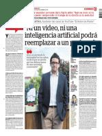 Ni Un Video, Ni Una Inteligencia Artificial Podrá Reemplazar a Un Profesor