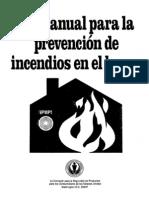Prevencion de Incendios en El Hogar