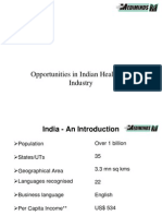 Indian Healthcare Industry Presentation