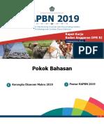 6. Raker Banggar- RAPBN 2019