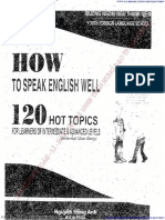 How to Speak English Well