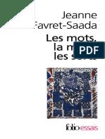 (Folio Essais 3) Jeanne Favret-Saada-Les Mots, La Mort, Les Sorts-Gallimard (1985)