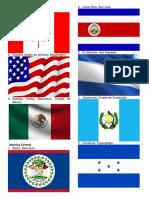 Banderas de Todos Los Paises de America