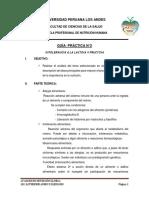 GUIA DE PRÁCTICA N°2 AVANCES EN NUTRICIÓN CLINICA