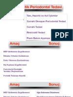 Periodontal cep eliminasyonu ve rejenerasyon