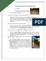 [RRL_1] Spent Bleaching Earth Extraction FAQS
