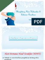 Menghitung Usia Kehamilan & Taksiran Persalinan