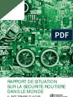 rapport sur la situation routiere dans le monde