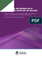 El Impacto Del Género en El Proceso de Selección de Fiscales 1