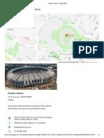 Plano Estadio Azteca
