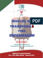 Manual de transfusão para enfermagem