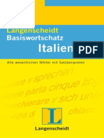 Kurzgrammatik Italienisch