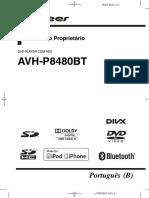 Pioneer Avh p8480bt