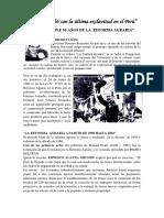 Velasco Acabó Con La Última Exclavitud en El Perú
