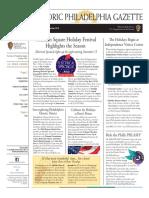 Historc Philadelphia Gazette - November/December 2018