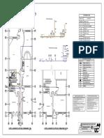 PLANO 14. (Instalaciones Sanitarias (P13-13))