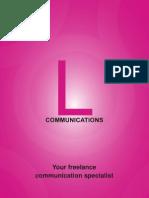 L Communication Brochure
