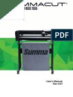Summacut d120 User Manual