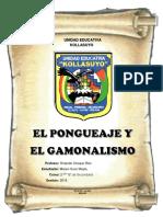 El Ponguejae y El Gamonalismo