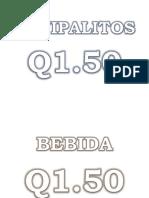 CEVIPALITOS Q1.00