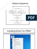 Installing Driver for PNMT