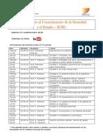Tutorías ICSE 2º 2018