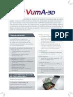 Vuma 3D Network Spanish
